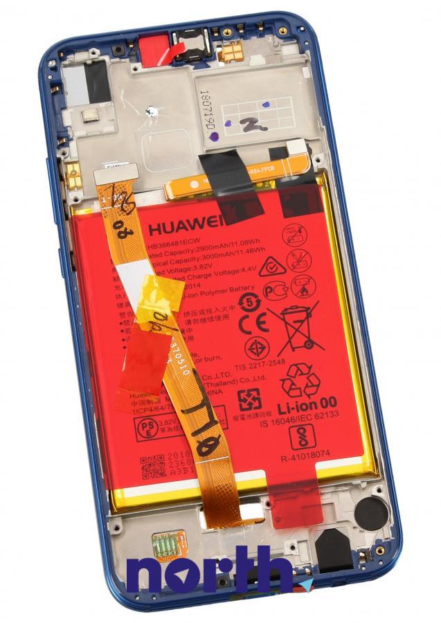 Panel dotykowy z wyświetlaczem, obudową i baterią do smartfona HUAWEI 02351XUA,1