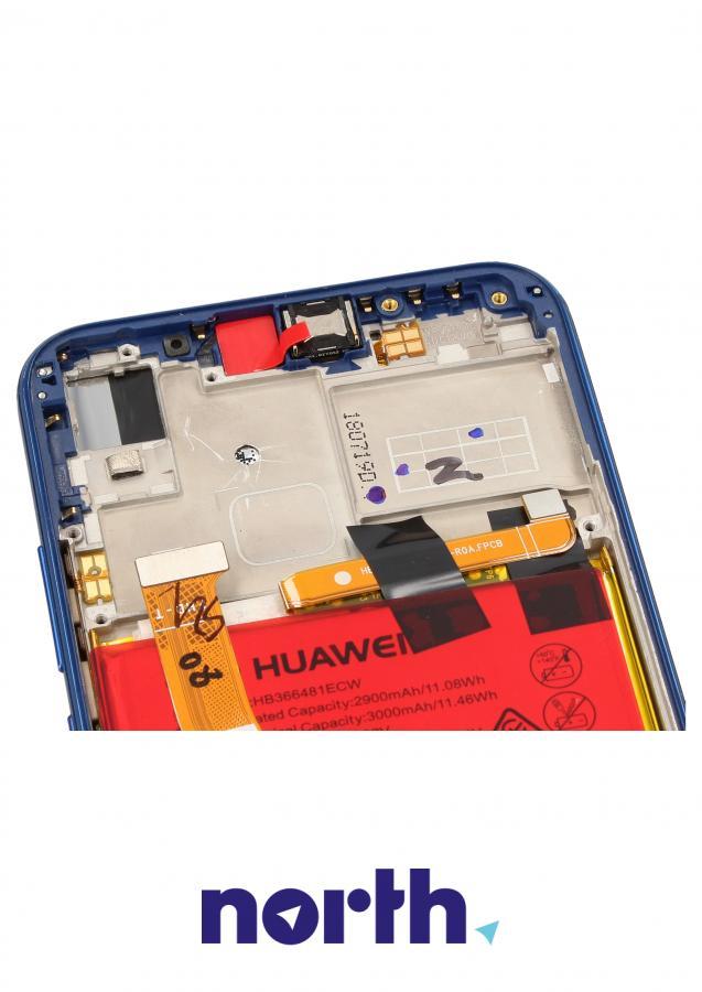 Panel dotykowy z wyświetlaczem, obudową i baterią do smartfona HUAWEI 02351XUA,2