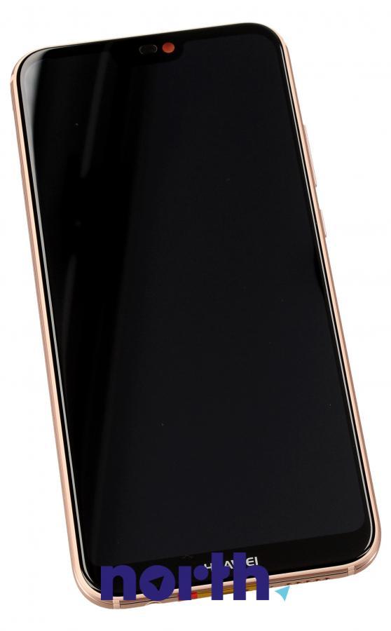 Panel dotykowy z wyświetlaczem, obudową i baterią do smartfona HUAWEI 02351VUW,0