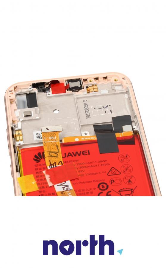 Panel dotykowy z wyświetlaczem, obudową i baterią do smartfona HUAWEI 02351VUW,3