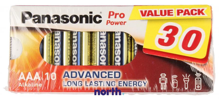 Bateria AAA alkaliczna (Pro Power) 1.5V Panasonic 30szt.,0