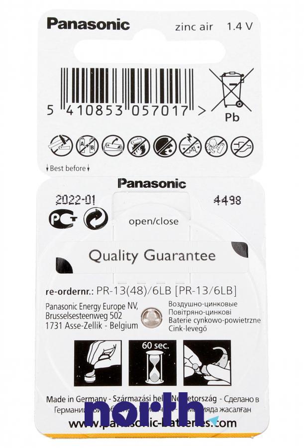 Bateria do aparatów słuchowych Panasonic,1