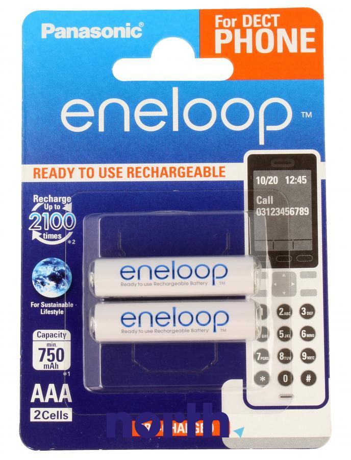 Akumulatorek AAA 1.2V 750mAh Panasonic (2szt.) - Eneloop,0