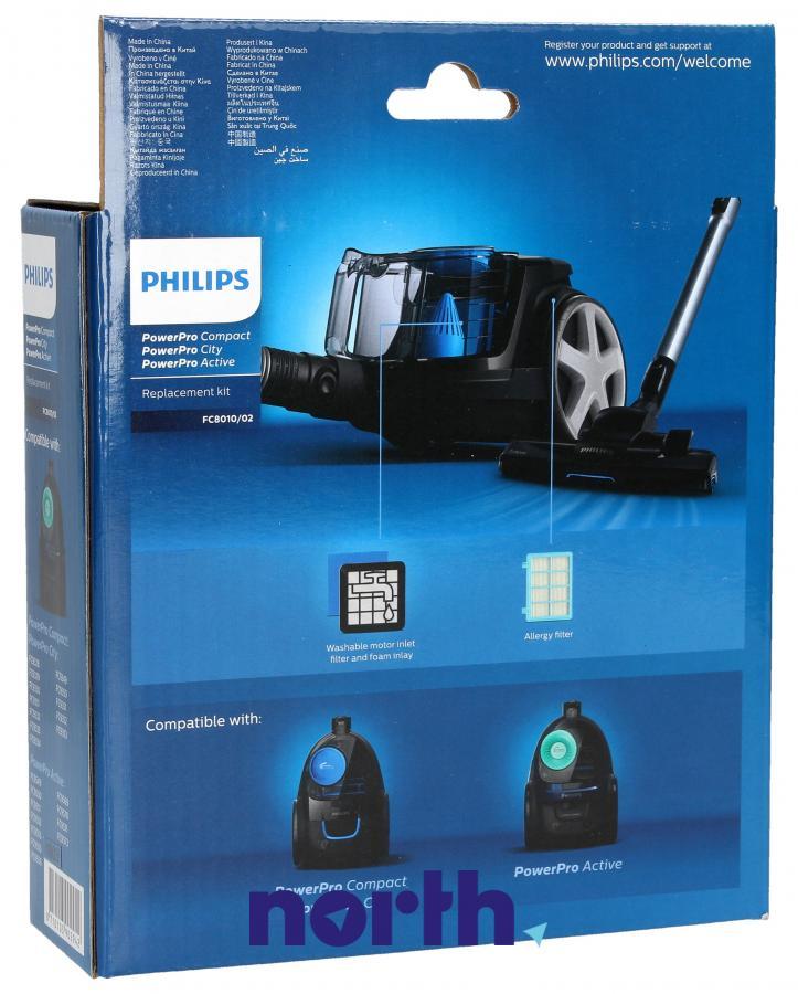 Filtry do odkurzacza Philips PowerPro FC8010/02,1