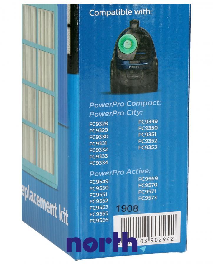 Filtry do odkurzacza Philips FC801002,2