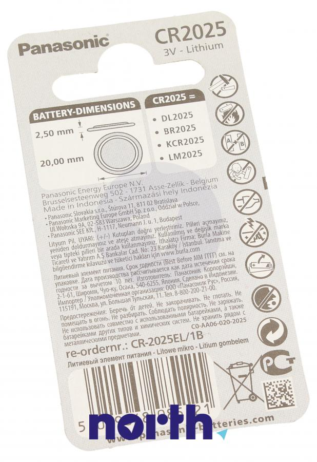 Bateria litowa 3V 165mAh Panasonic,1