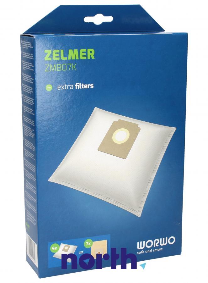 Worki ZMB07K 4szt. do odkurzacza Zelmer,0