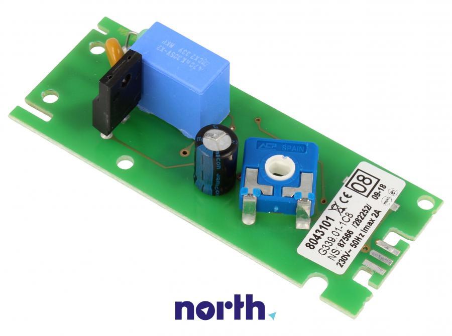 Płytka termostatu do lodówki Amica G339_C1 8043101,0