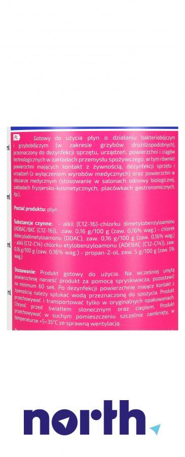 Środek do szybkiej dezynfekcji powierzchni Tenzi W68/600 1l,3