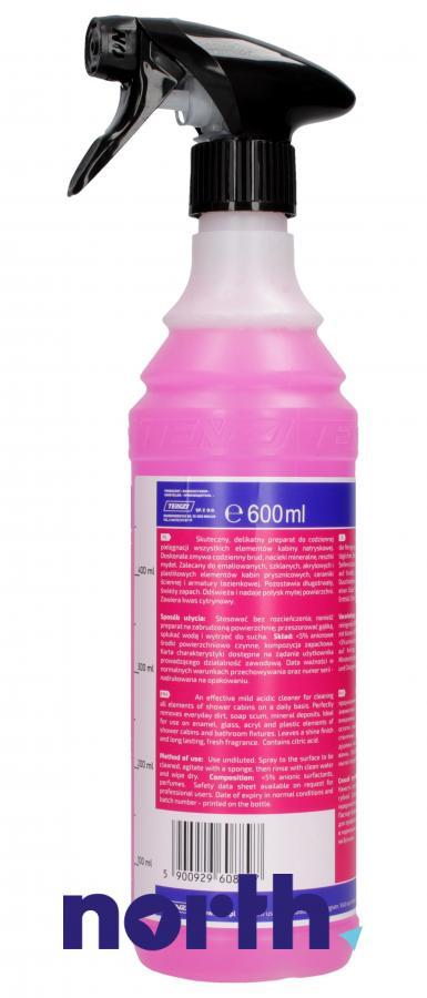 Środek do mycia kabin prysznicowych (spray) 600ml,1