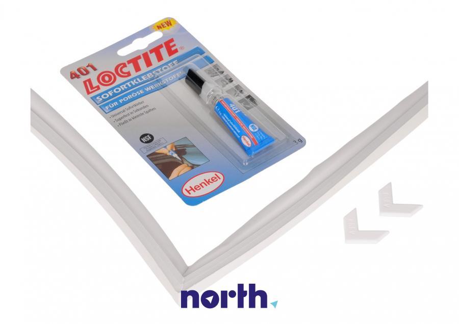Uniwersalna uszczelka magnetyczna + klej 200cm x 100cm do lodówki,1