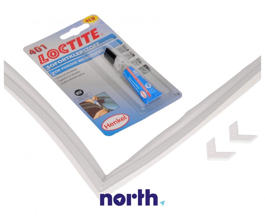 Uniwersalna uszczelka magnetyczna + klej 130cm x 70cm do lodówki Samsung,1