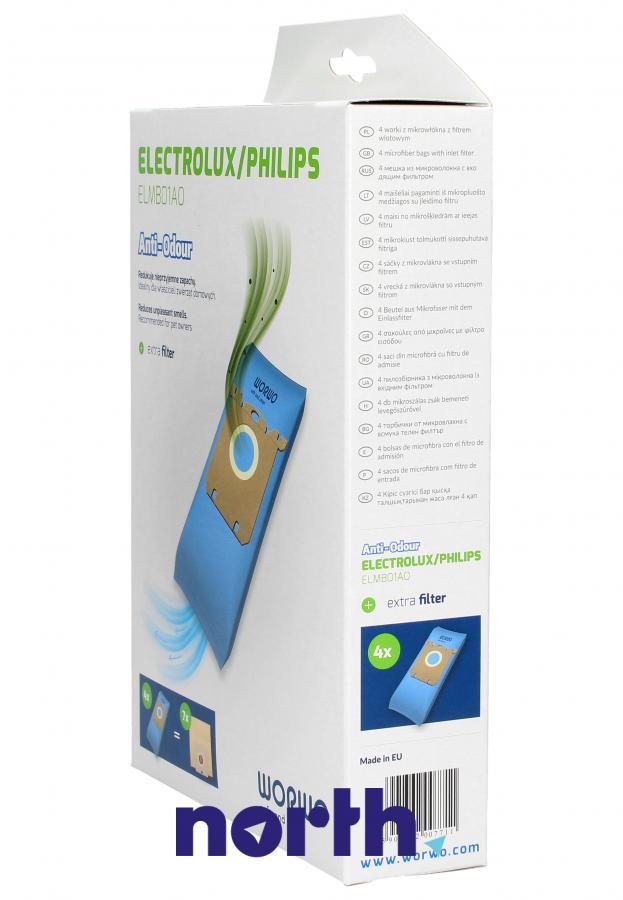 Worki S-Bag Anti-Odour ELMB01AO 4szt. do odkurzacza Electrolux,2