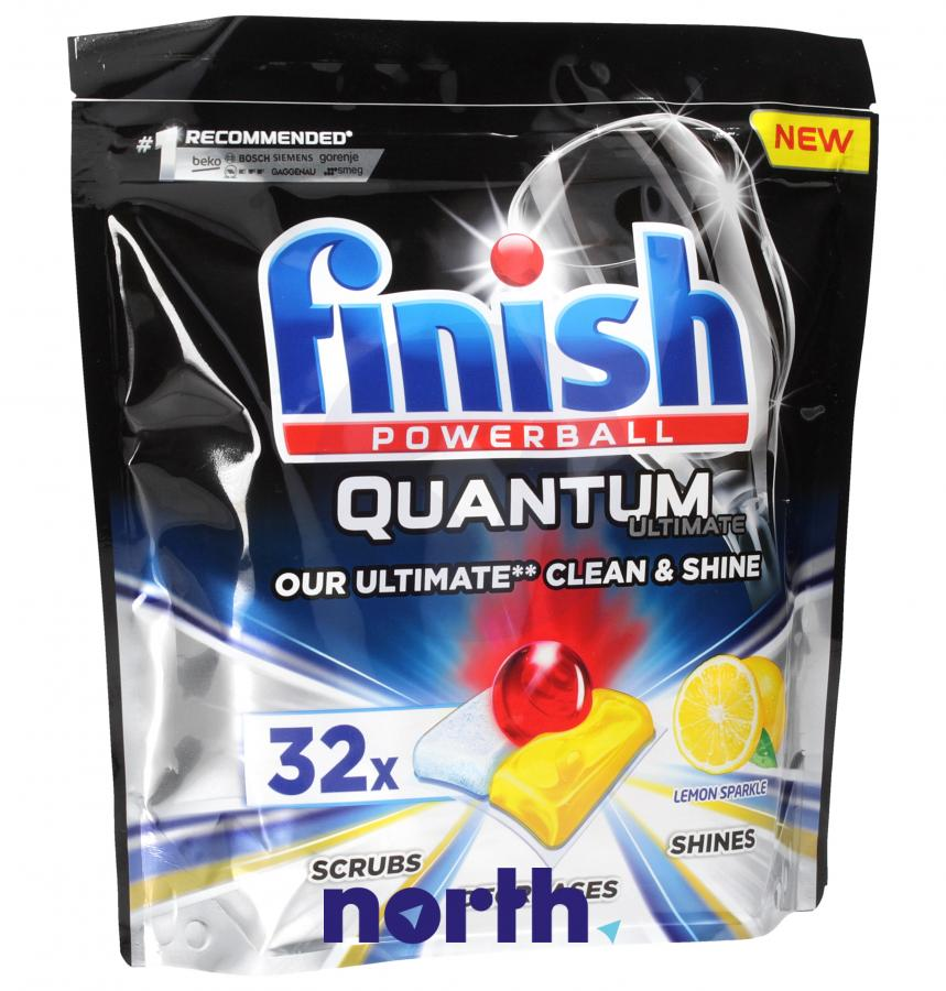 Tabletki do zmywarki Finish Quantum Ultimate 32szt.,0