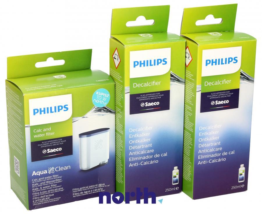 Filtr wody + odkamieniacz do ekspresu Philips,1