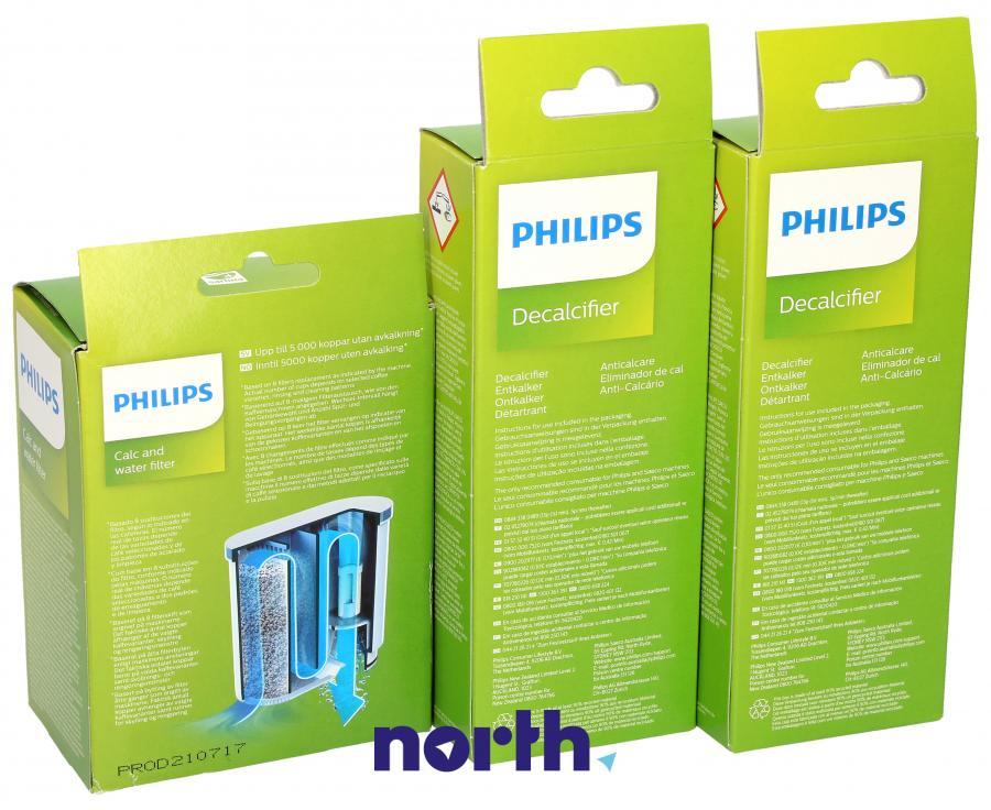 Filtr wody + odkamieniacz do ekspresu Philips,2