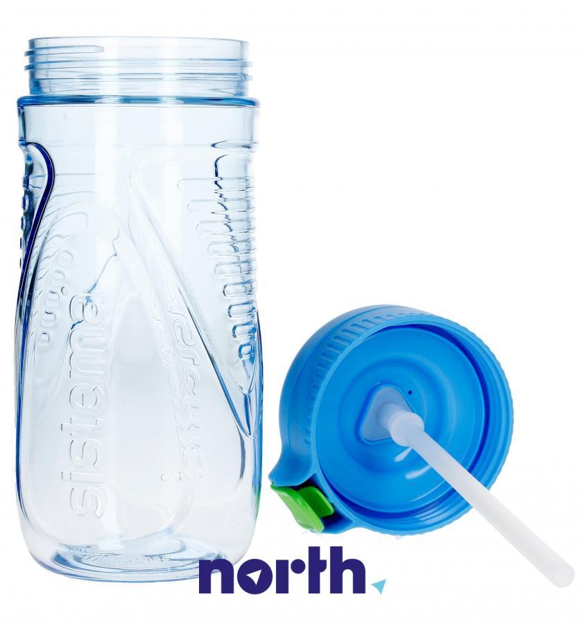 Butelka na wodę tritan quick flip 520ml Sistema,4