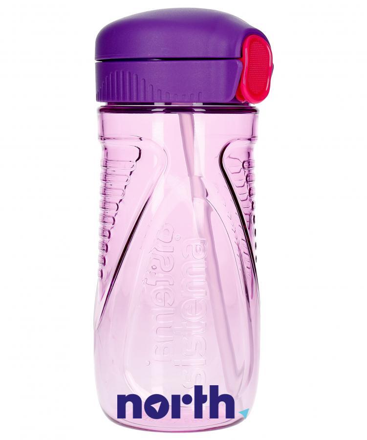 Butelka na wodę tritan quick flip 520ml Sistema,0