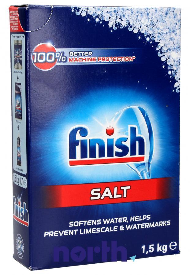 Sól zmiękczająca wodę 1,5kg do zmywarki FINISH,0