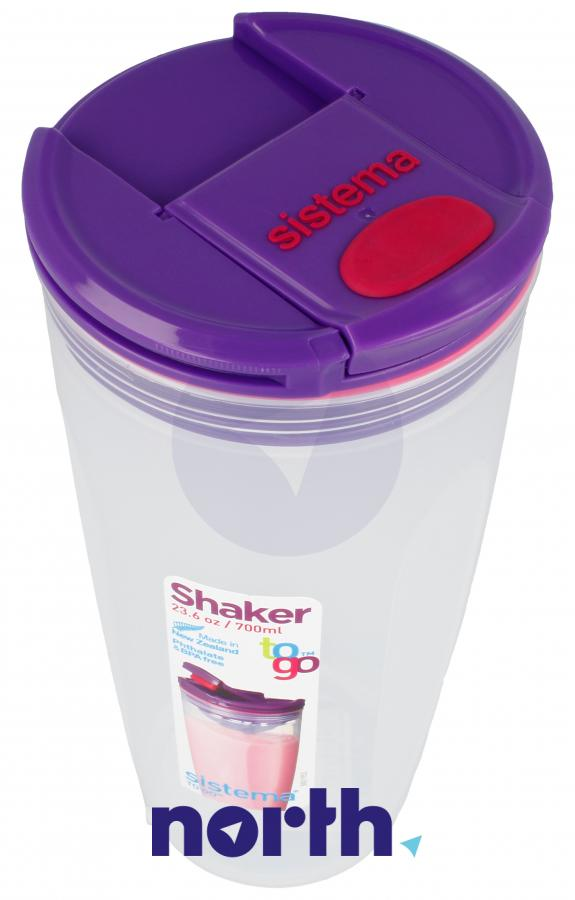 Shaker to-go 700ml Sistema,2