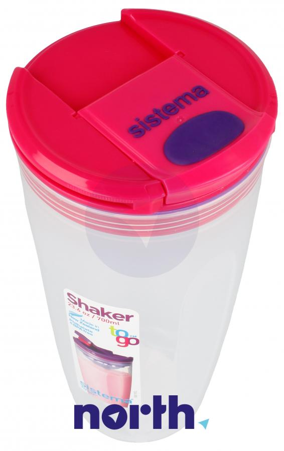Shaker to-go 700ml Sistema,2