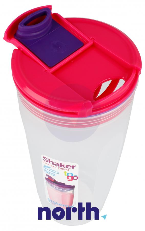 Shaker to-go 700ml Sistema,4