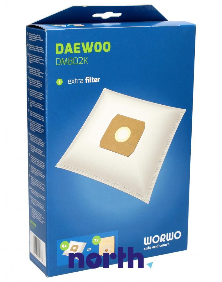 Worki DMB02K 4szt. do odkurzacza Daewoo,0