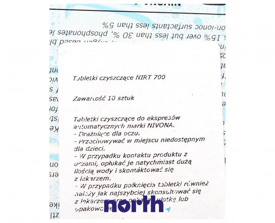 Tabletki czyszczące do ekspresu Nivona NIRT701,2