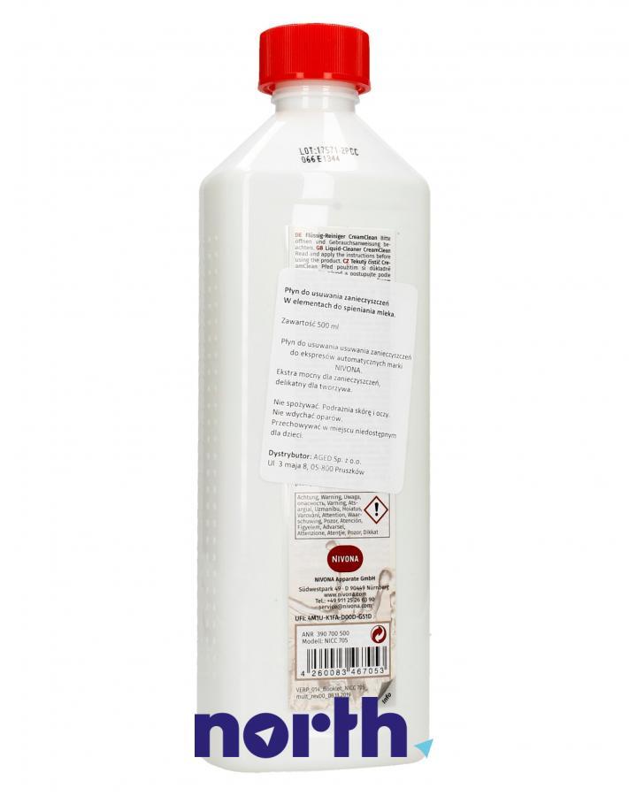 Płyn do czyszczenia obiegu mleka do ekspresu 500ml Nivona NICC705,1