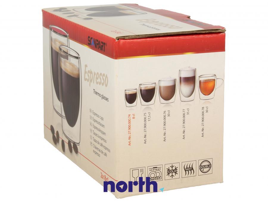 Szklanki do kawy espresso SCANPART 2790000074,1