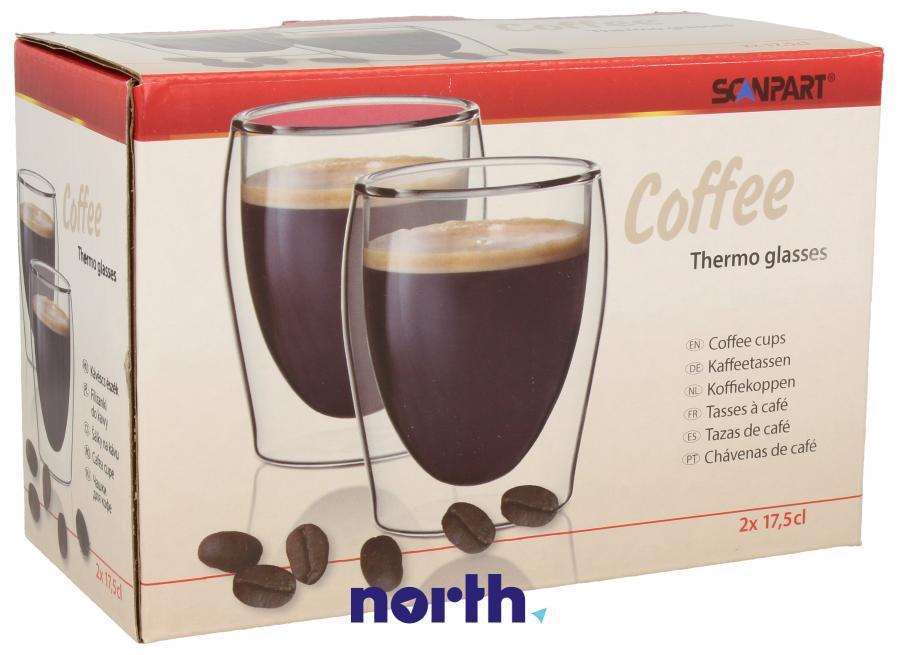 Szklanki do kawy do ekspresu SCANPART 2790000075,0