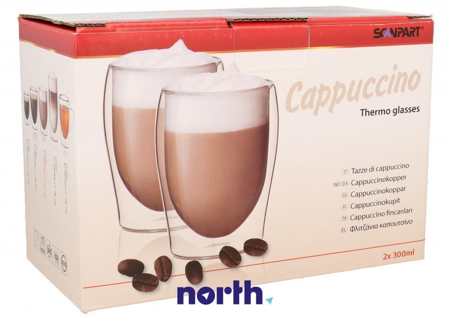 Szklanki do kawy cappuccino do ekspresu SCANPART 2790000076,0
