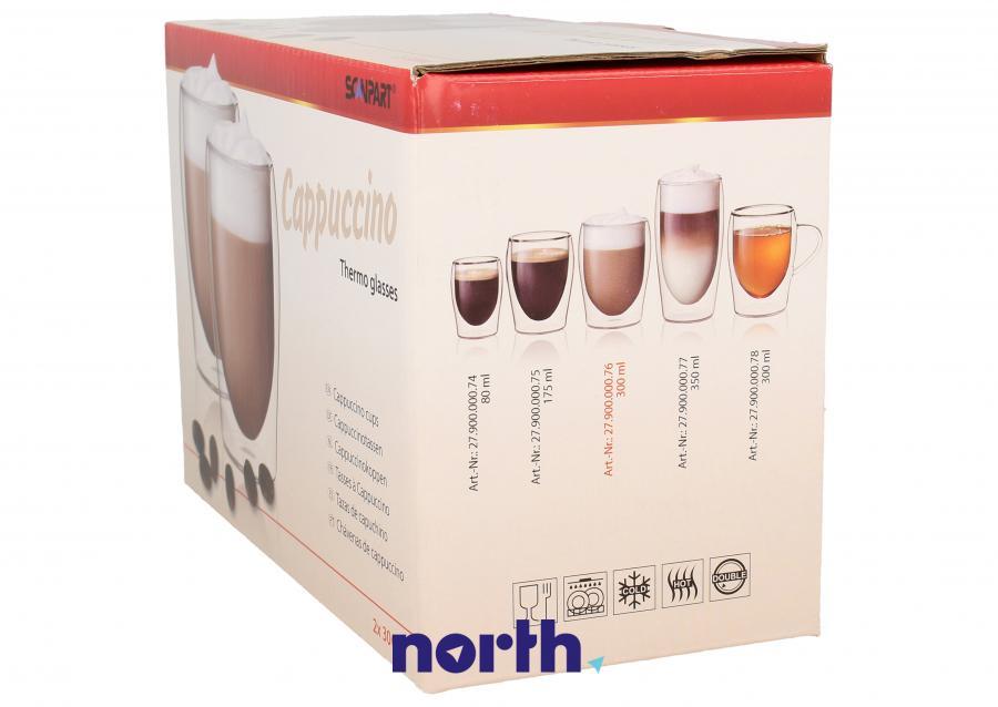 Szklanki do kawy cappuccino do ekspresu SCANPART 2790000076,1