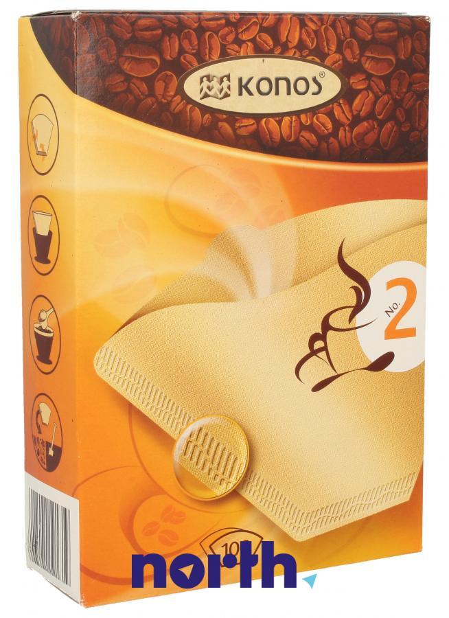 Filtry papierowe do ekspresu przelewowego KONOS 2790000323,0