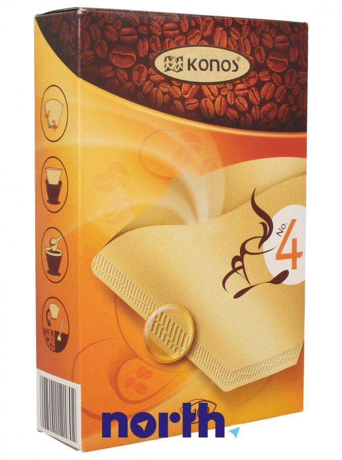 Filtry papierowe do ekspresu przelewowego KONOS 2790000324,0