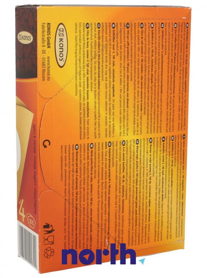 Filtry papierowe do ekspresu przelewowego KONOS 2790000324,1
