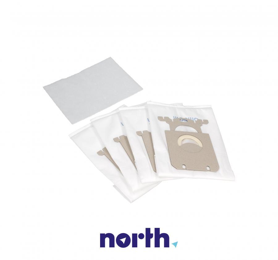 Worki S-Bag 4szt. + wkłady zapachowe 10szt. do odkurzacza Philips,1