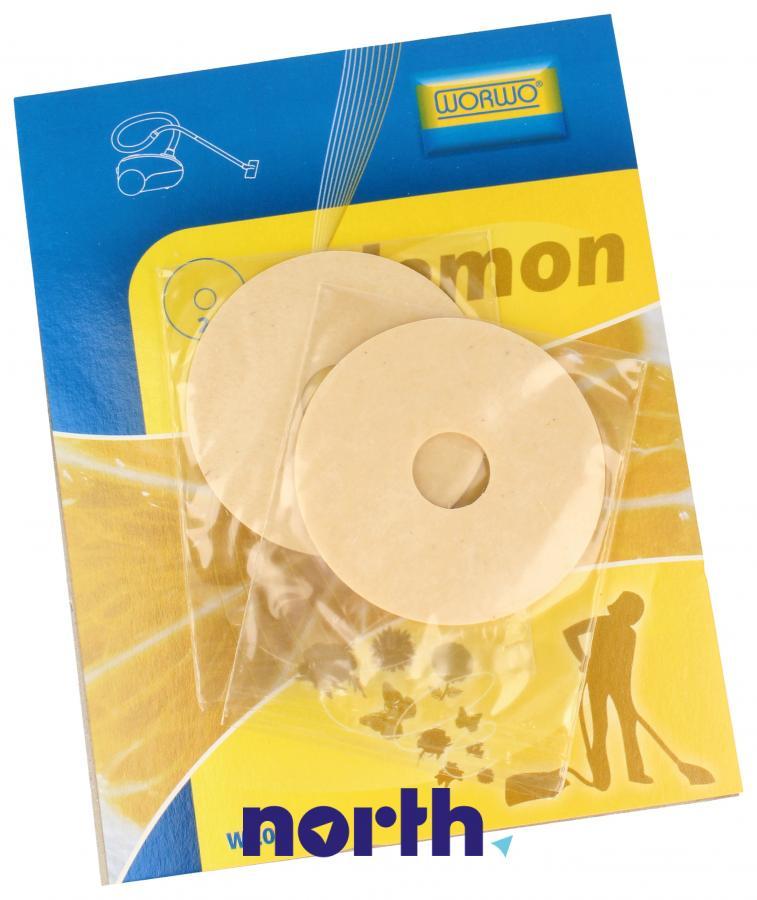Wkład zapachowy cytrynowy 2szt. Worwo WZ01 do odkurzacza,2