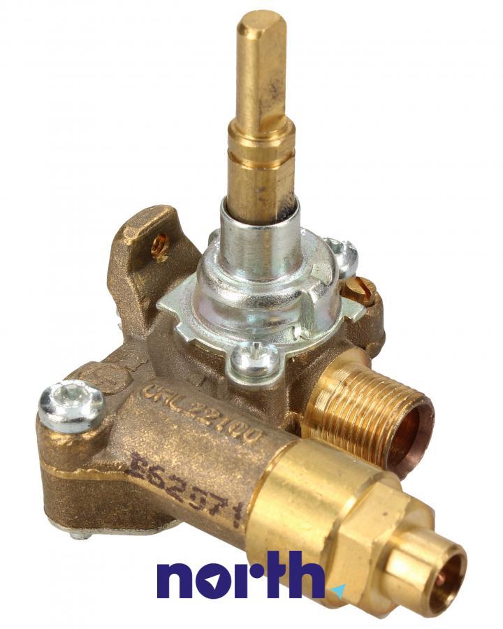 Zawór gazu do płyty gazowej Amica 8008972,0