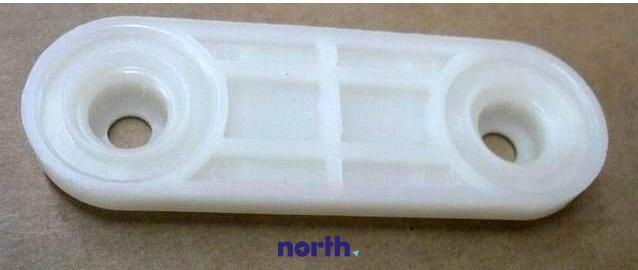 Mocowanie rolki prowadnicy górnego kosza do zmywarki Amica 1016570,1