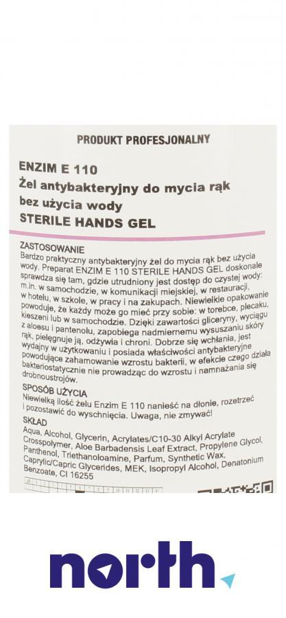 Żel antybakteryjny do mycia rąk 500ml Enzim,7