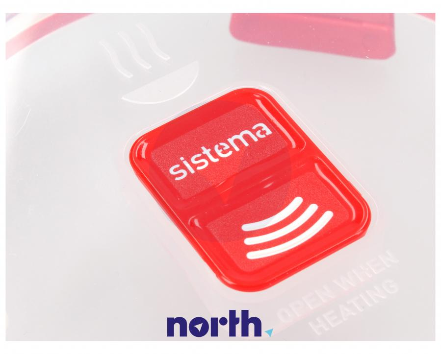 Pojemnik śniadaniowy do mikrofalówki 850ml SISTEMA,3