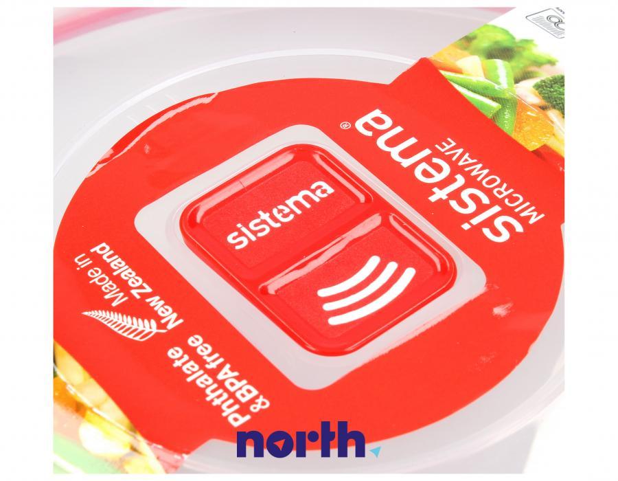 Pojemnik obiadowy do mikrofalówki 1,29 l SISTEMA,2