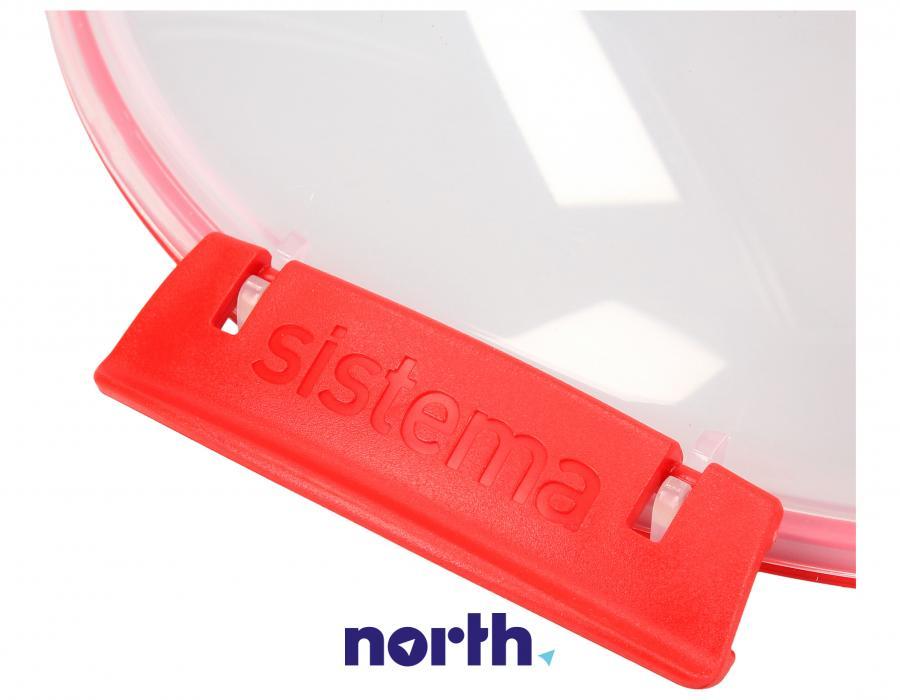 Pojemnik obiadowy do mikrofalówki 1,29 l SISTEMA,3