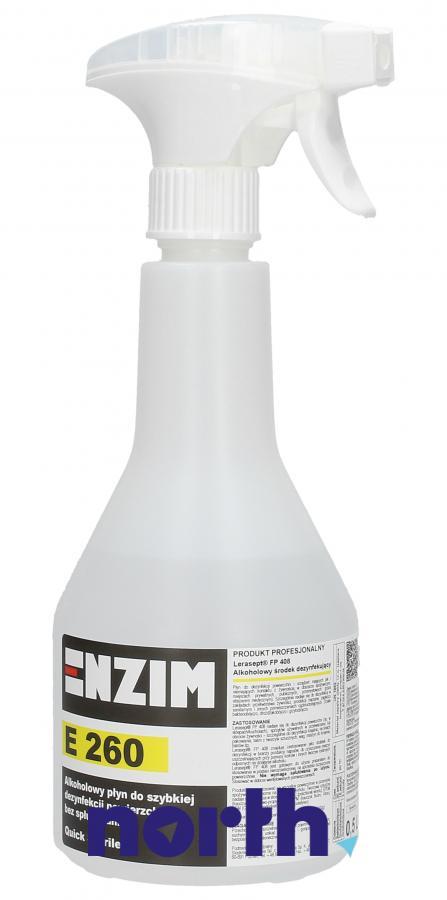 Płyn do szybkiej dezynfekcji powierzchni Enzim E260 0,5l,0
