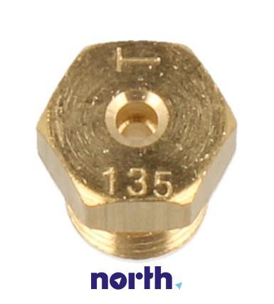 Dysza gazu ziemnego palnika wok do płyty gazowej Amica 8016745,0