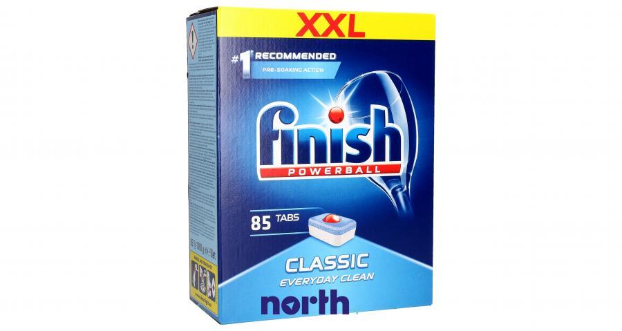 Tabletki + środek czyszczący + odświeżacz + sól + nabłyszczacz do zmywarki FINISH,1