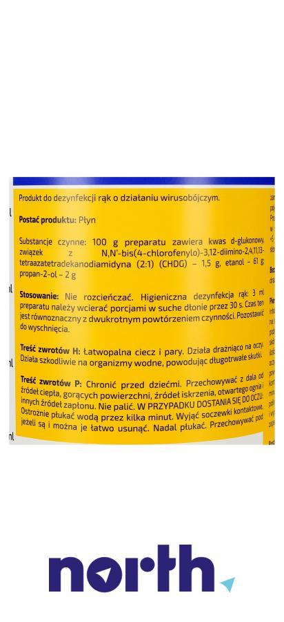 Płyn dezynfekujący do mycia rąk Tenzi DE-ZAL E 1l,3
