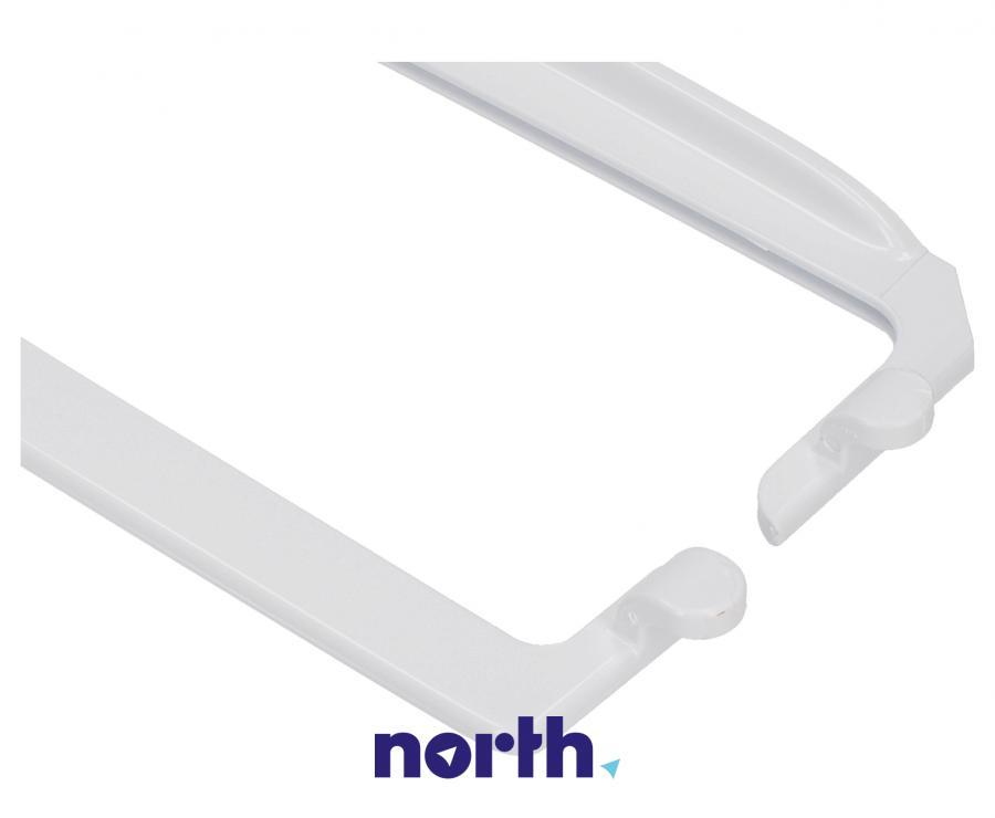 Zestaw ramek do półki szklanej (tył + przód) do lodówki Amica 1035517,1