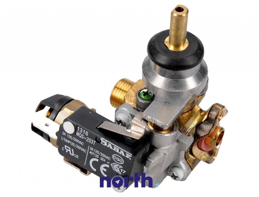 Zawór gazu palnika do kuchenki Amica 8009490,1